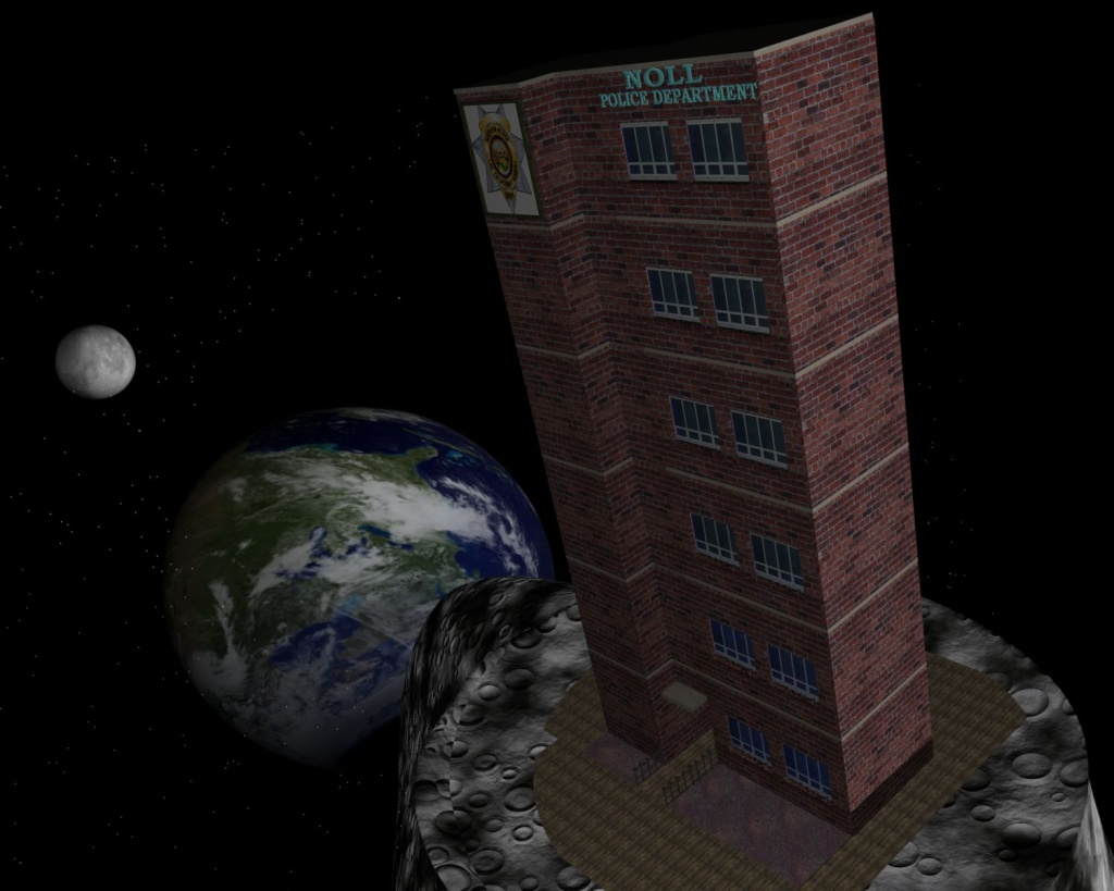 Realsoft 3d Image Contest Apr Jun 2007 Theme Law Enforcement Where Is The Police